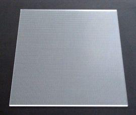 雕刻導光板/LED平板裝飾照明專用亞克力導光板/3D雕刻導光板/防水