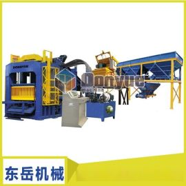 江苏苏州免烧砖机 全自动水泥砌块成型机 透水砖机空心砖机