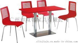 广州双邻供应奶茶店餐桌椅欢迎来图定制