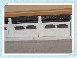 济宁石雕河堤护栏价格 草白玉河堤栏杆厂家