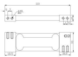 电子天平用传感器 -LAK/B