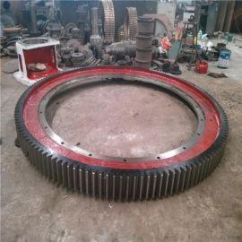 法兰式整体结构干燥机大齿圈弹簧板烘干机大齿轮