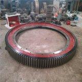法蘭式整體結構乾燥機大齒圈彈簧板烘乾機大齒輪