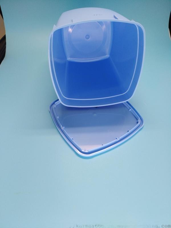 4L雪糕盒PP塑料包装盒一次性使用冰淇淋桶大容量
