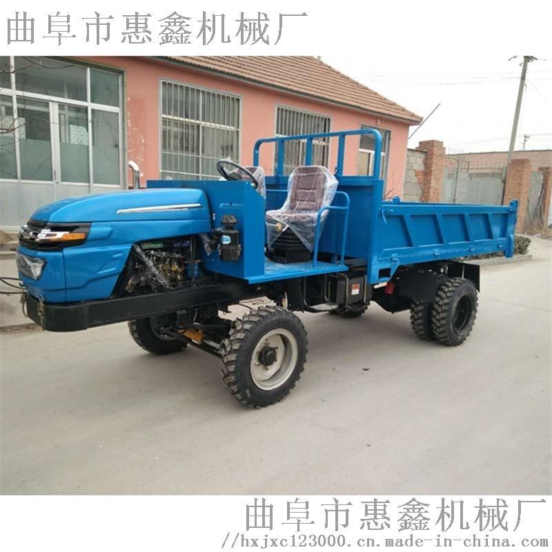 工程四不像拖拉机渣土自卸运输车四驱混凝土运输车