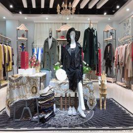 朗笛曼品牌折扣尾货女装四季青女装货源原创设计师品牌