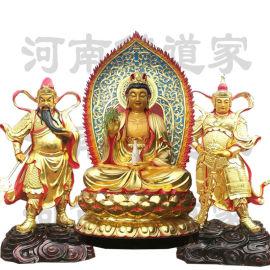 慈航道人神像雕塑 道教女真神仙塑像 南海观音佛像