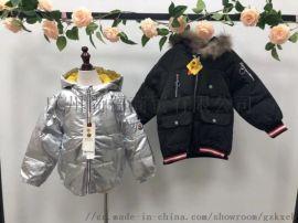 GXF纯羽绒品牌童装折扣批发、品牌童装货源