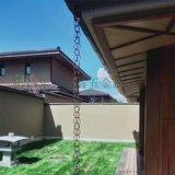 别墅用环形铝合金雨链 山东铝合金雨链