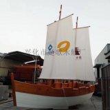 出售青島碧桂園售樓部戶外景觀裝飾船道具帆船
