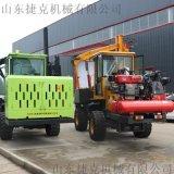 護欄打樁機 四川混凝土路面設備汽油路面打樁機