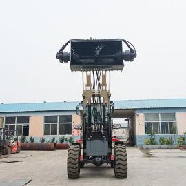 德翊 小型装载机铲车 液压轮式装载机 搅拌斗装载机