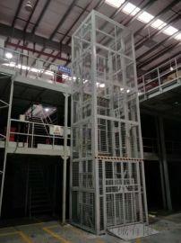库房货梯家装升降机液压导轨式货梯兰州市直销厂家