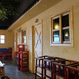 外墙稻壳质感艺术涂料福建生态稻草漆供应商