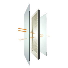 兴发系统中空百叶窗铝合金门窗全屋定制