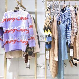 加拿大品牌折扣女装宝姿时尚潮牌毛衣工厂直供货源