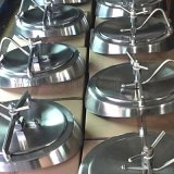 搪玻璃反应釜快开人孔 反应罐配件 不锈钢罐配件