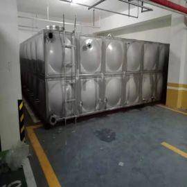 拼接式SMC玻璃钢水箱模块水箱