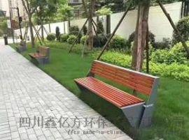 宜宾不锈钢户外长椅园林座椅定制厂家