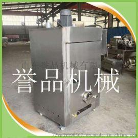 鸡骨架猪头肉糖熏上色糖熏炉现货-不锈钢熏鸡炉