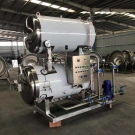 强大机械高温灭菌锅 双层蒸汽式灭菌锅