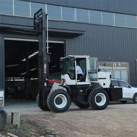 山地施工越野叉车 3-6吨液压堆高叉车