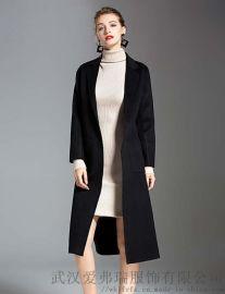 工厂服装尾数可以直接拿货吗伊贵人手缝双面羊毛羊绒呢