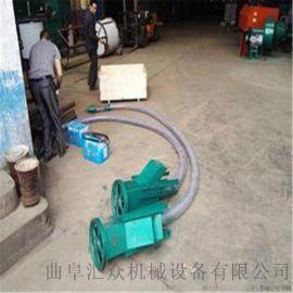 稻谷抽粮机 收玉米用软管抽粮机 六九重工粒状物料气