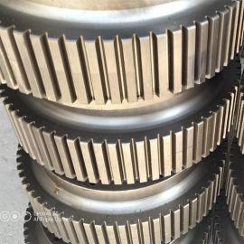 山东颗粒机配件厂家 恒美百特600颗粒机压轮皮 模具 颗粒机轴承