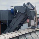 海運集裝箱粉煤灰拆箱機 環保無揚塵倒料設備 卸灰機