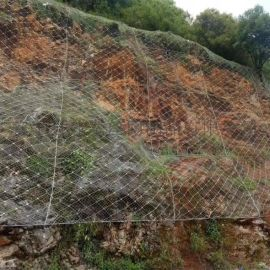 边坡柔性防护网价格 sns边坡防护网