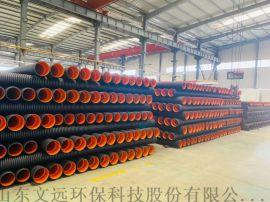 农村生活污水PE双壁波纹管/160口径波纹管供应