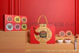 春节礼盒设计_新年礼品包装盒_年货礼盒定制