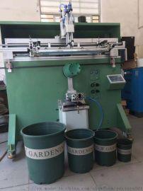 佛山市花盆丝印机佛山塑料桶滚印机环球花盆丝网印刷机