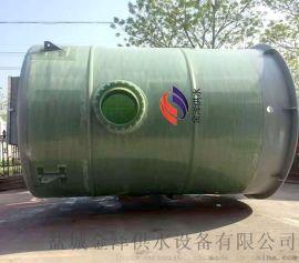 湖南永州一体化预制泵站 玻璃钢材质介绍