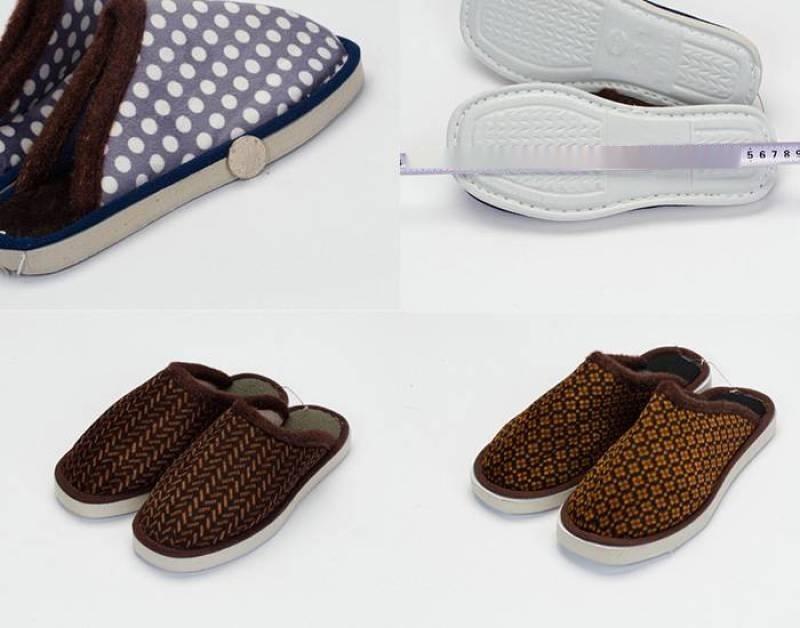 10元一双模式跑江湖摆地摊手工棉拖鞋价格