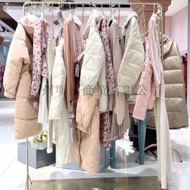 杭州品牌折扣女装朗斯莉针织毛衣抖音直播间拿货渠道