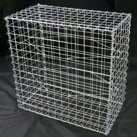 4*50*50mm镀锌石笼网 园林围墙防护石笼网箱