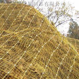 边坡被动主动防护网钛克网永坤环形防护网锚杆
