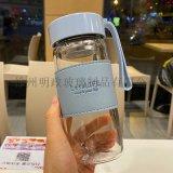 高硼硅杯耐热防爆茶杯泡花茶杯商务水杯