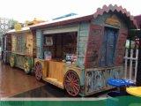 Tianran添然皇茶加盟售賣車設計,找時景傢俱