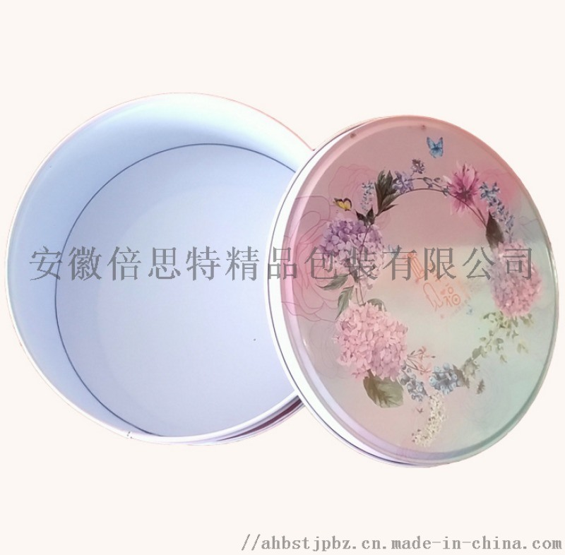 月饼铁盒生产厂家 定制精美月饼铁盒 圆形月饼铁盒厂家