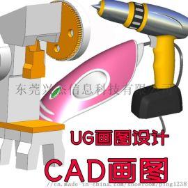 东莞机械设计图代画,建筑效果图,CAD画图
