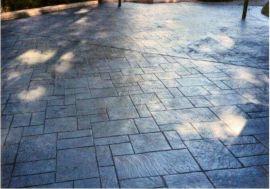 湖南彩色混凝土压花地坪厂家包工包料