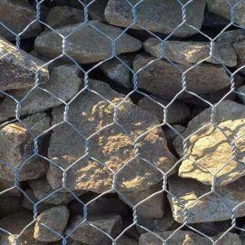 装石六角笼 河道治理用网 河堤河床用石笼网