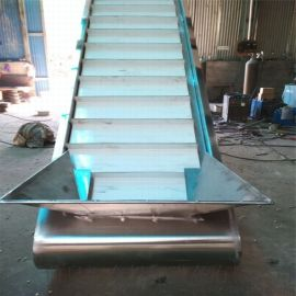 爬坡送料机价格 裙边皮带输送机 六九重工 PVC工