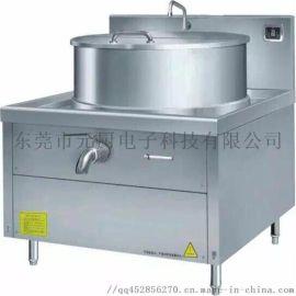 高邮市学校一体式煲汤灶 德茹400L煮牛肉汤锅