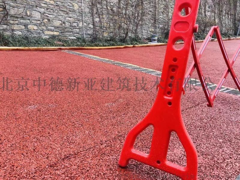 彩色透水砼地坪增强剂彩色透水混凝土胶结料