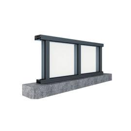 广东兴发铝材创高US150铝合金玻璃栏杆