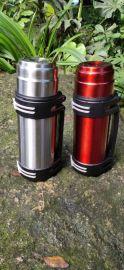 大容量旅行壶304不锈钢户外运动水壶 便携保温杯礼品定制